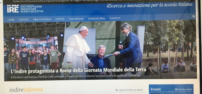 22 april the meeting with he pope in the occasion of the earth day (1)